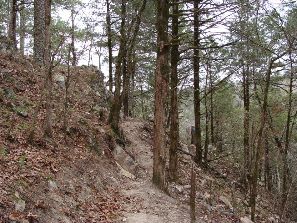 The Most Rugged Part Of The Trail Is After The Trail Leaves The Ridge And  Follows