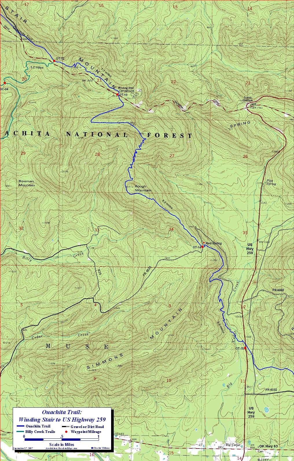 Selected Ot Maps Are Also Available At Backwoods In Tulsa Okc And Norman And Ozark Outdoor Supply In Little Rock