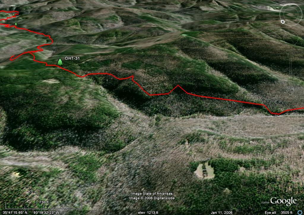 Ozark Highlands Trail Maps, Ozark Mountains, Arkansas  Free