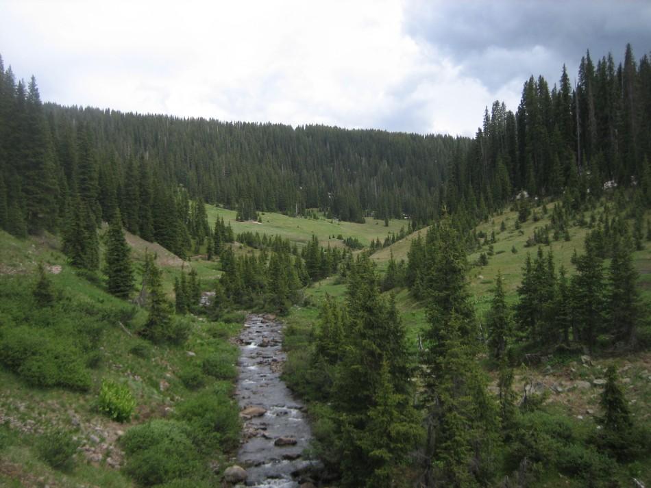 Blue Lake Loop South San Juan Wilderness Colorado Free